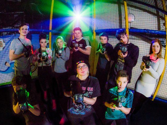 Laser Storm Parties